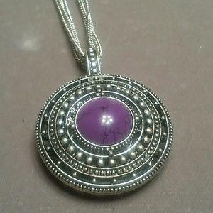 Purple Enhancer Necklace